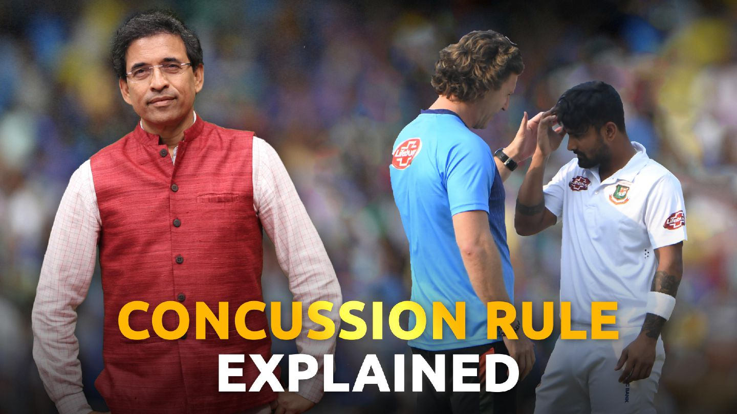 Let Umpire & Physio decide on concussion, not batsman - Harsha