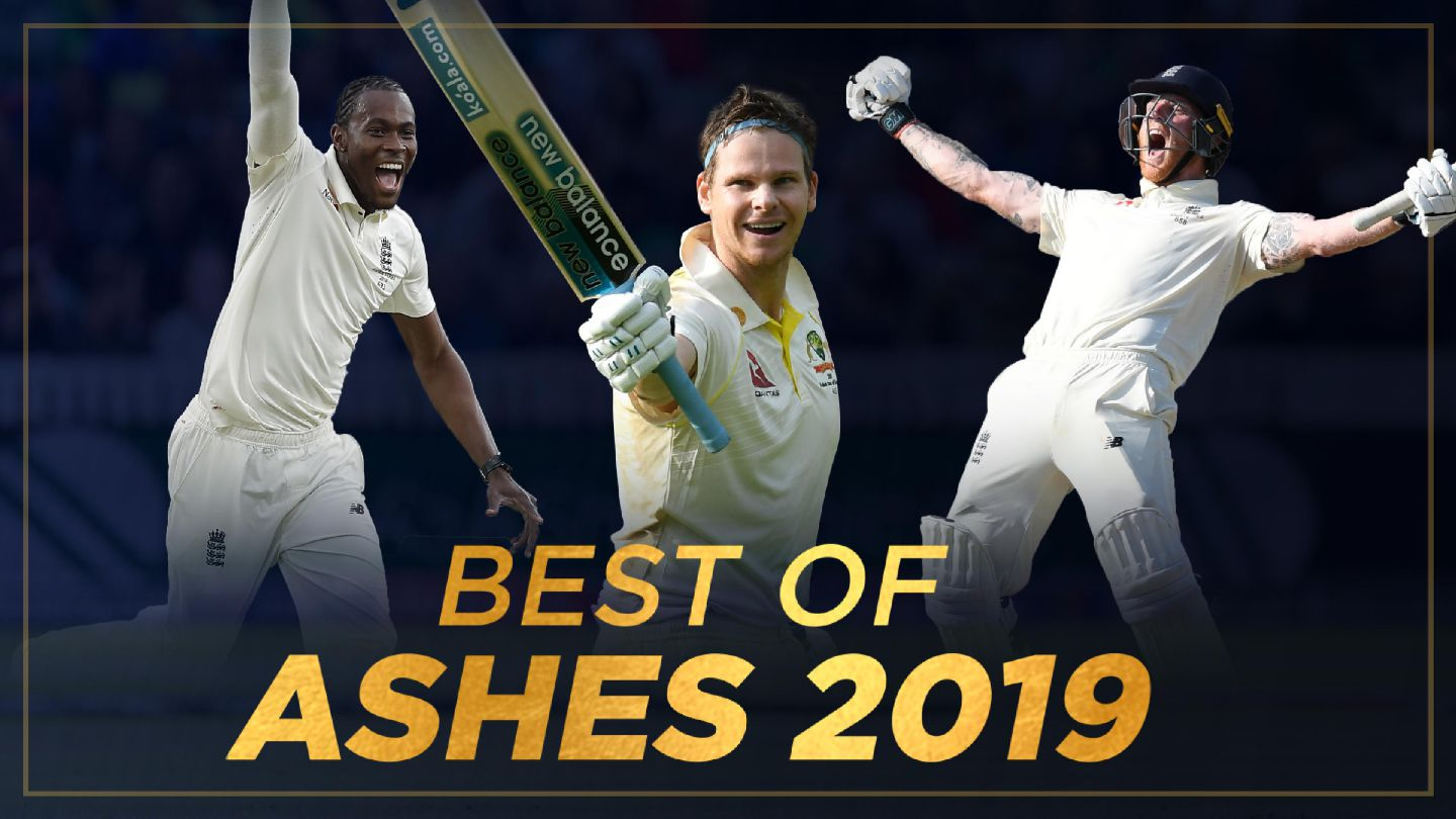 Relive the top-10 moments of Ashes 2019