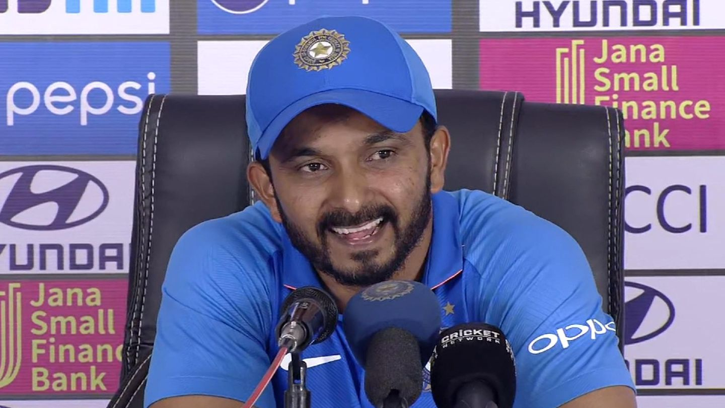 Credit to captain & management for my consistent performance: Kedar Jadhav