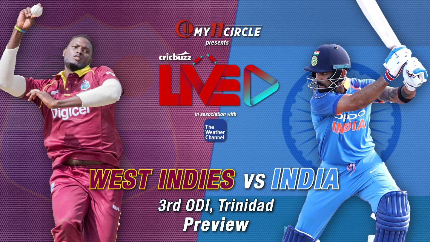 West Indies vs India, 3rd ODI: Preview