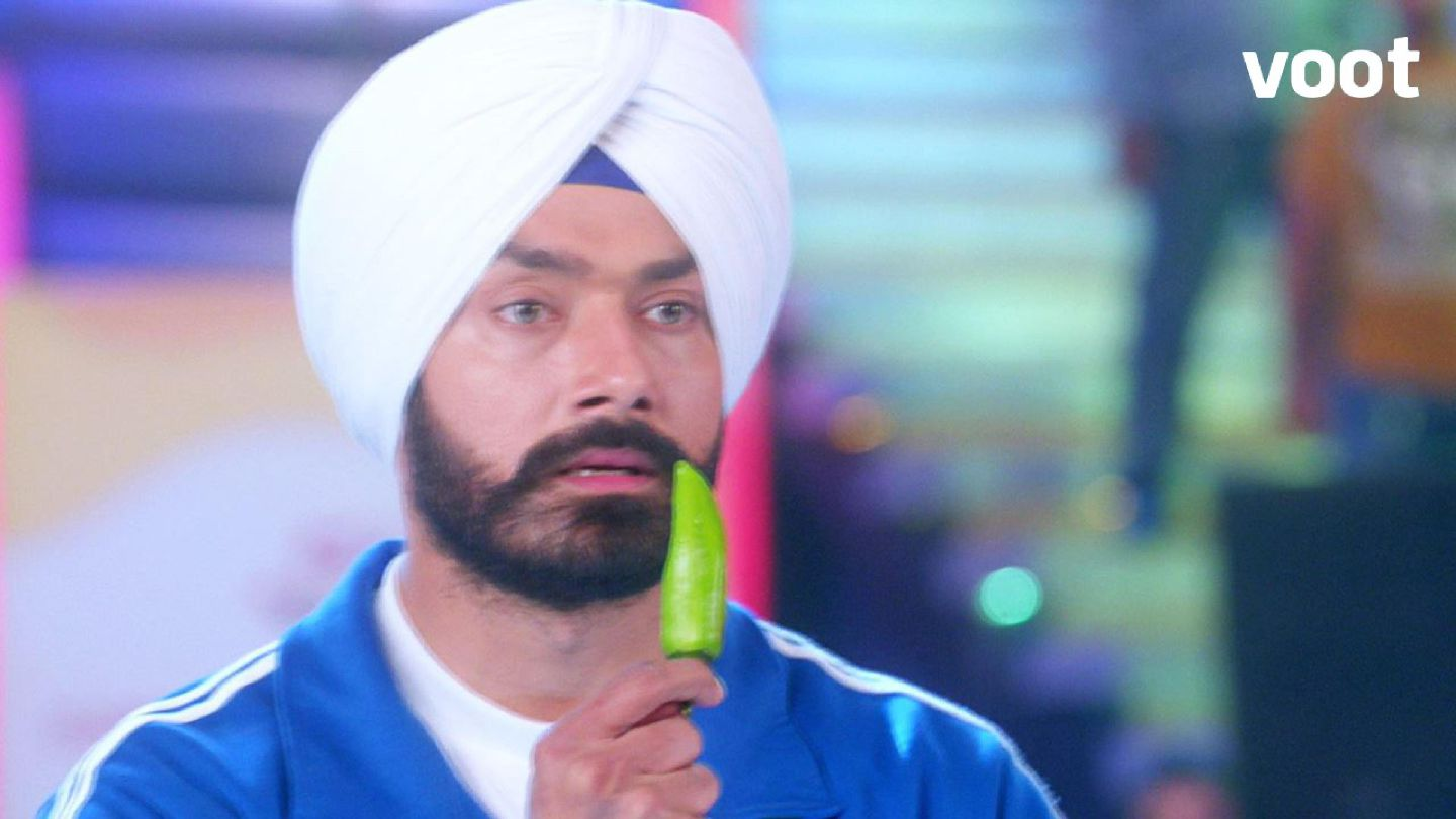 Sarabjeet to eat the chillies?