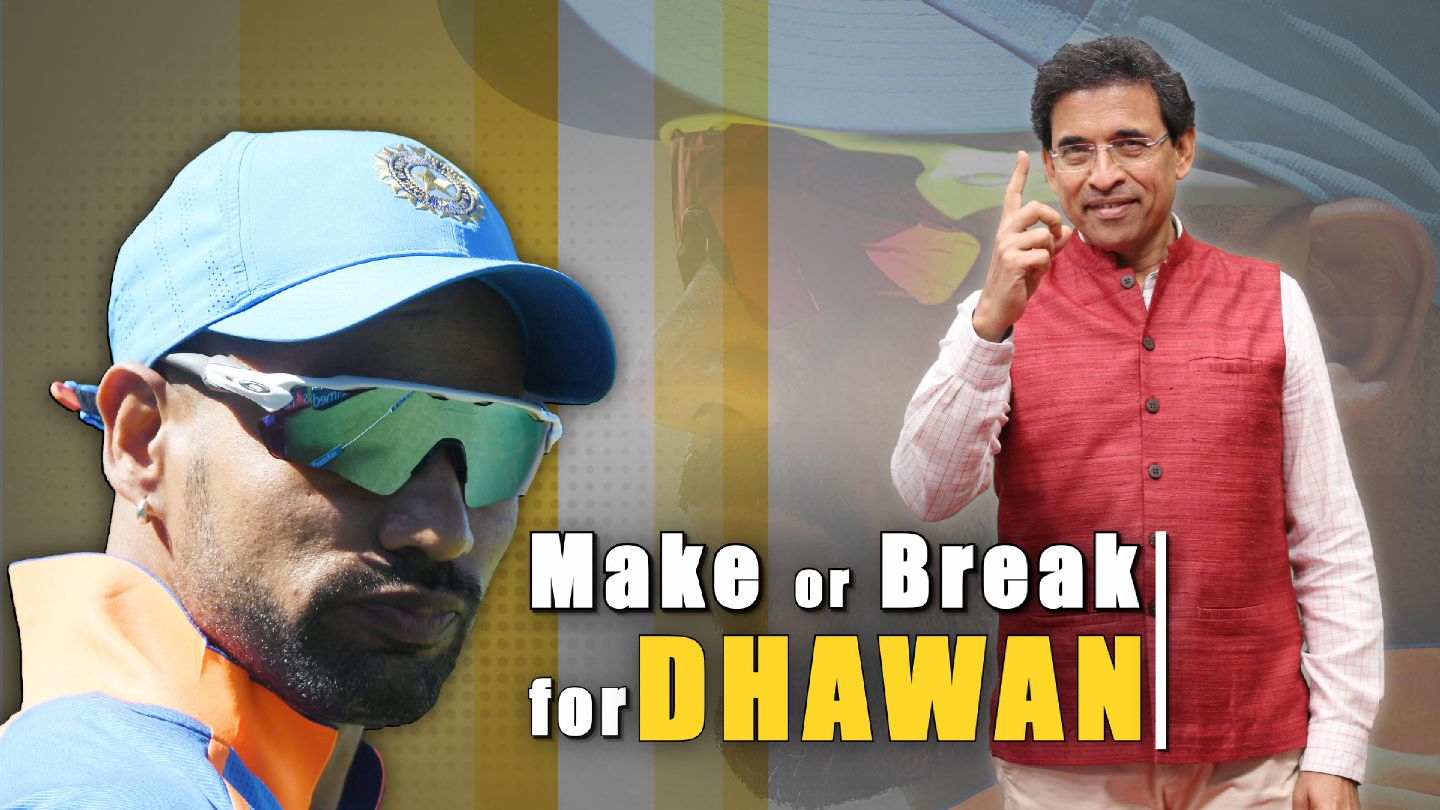 Won't see the best of Dhawan if he believes every game is his last - Harsha Bhog...