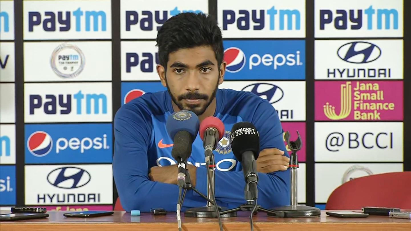 We were short by 15-20 runs but it was a fighting total - Jasprit Bumrah