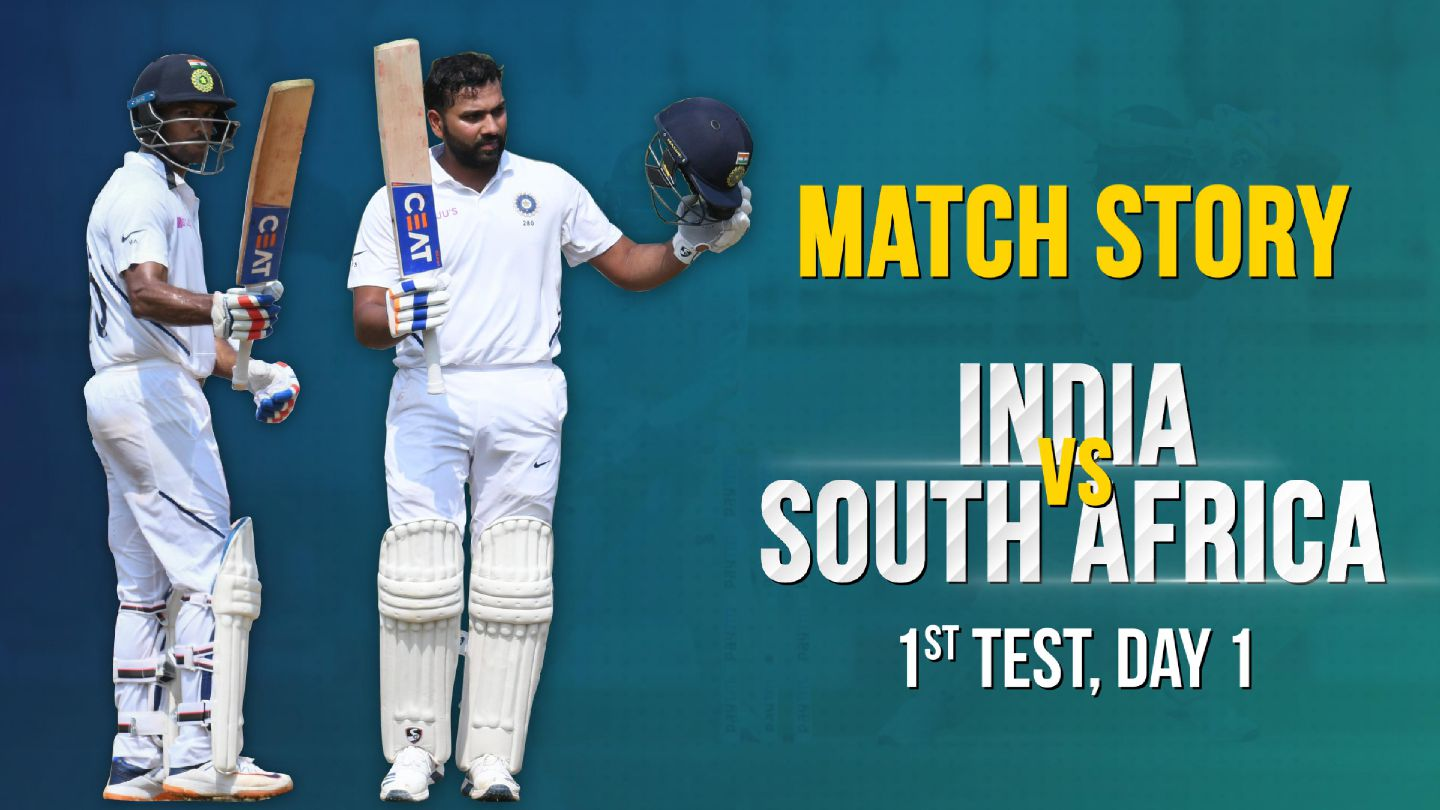 IND v SA, 1st Test, Day 1, Match Story: Rohit Sharma's ton   Dominant Indian Openers